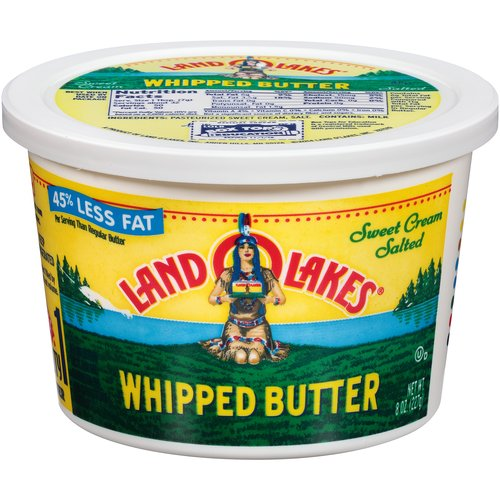 Land O Lakes Salted Whipped Butter, 8 oz.