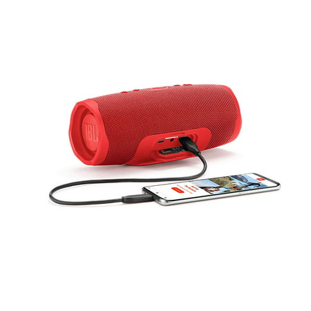 JBL Charge 4 Portable Waterproof Wireless Bluetooth Speaker Black