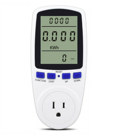 Digital Power Monitor Meter Usage Saving Energy Watt Amp Volt KWh Electricity Analyzer Monitoring Device Equipment -