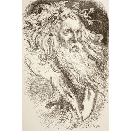 Illustration For King Lear By William Shakespeare From The Illustrated Library Shakspeare Published London 1890 Posterprint