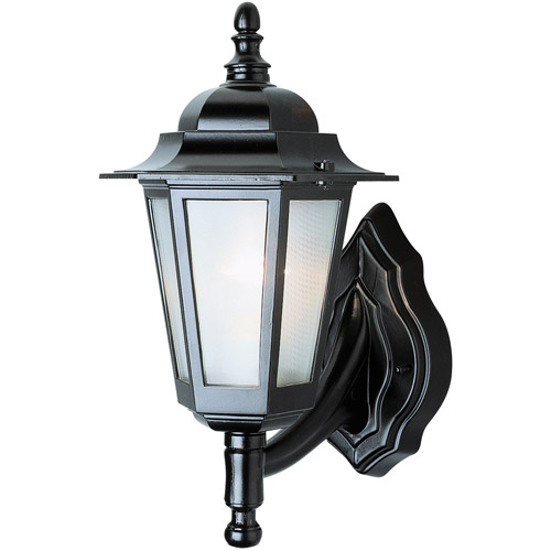 "BelAire New Boston 14"" Outdoor Wall Light, Black"