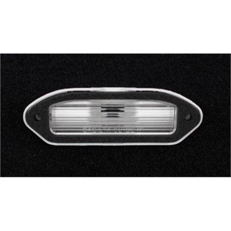 (Trim Parts A6768 Rear License Plate Light Lens for 1974-77 Camaro)
