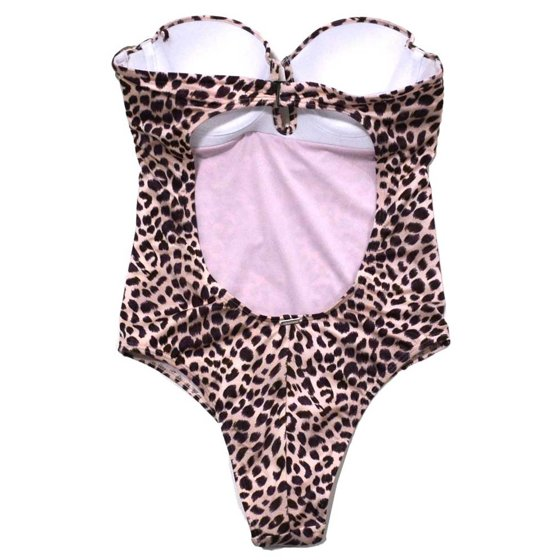 d8edd32a4f8bf Victoria's Secret One-Piece Strapless Keyhole Open Back Swimsuit