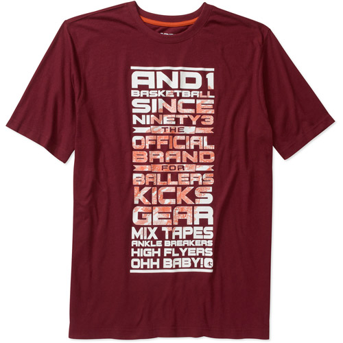 And 1 Big Men's Ohh Baby Cotton Tee