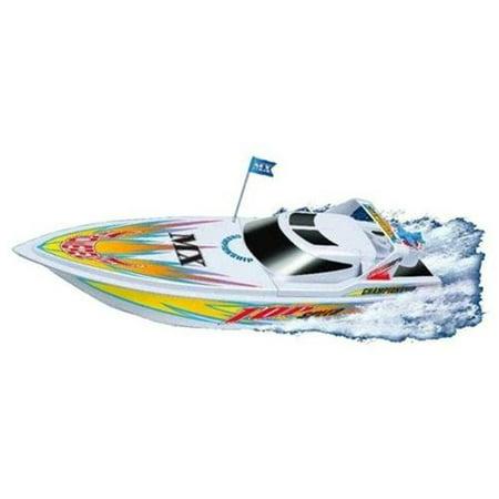 Microgear EC10283-WT Microgear Radio Controlled RC Sea Ray Speed Boat