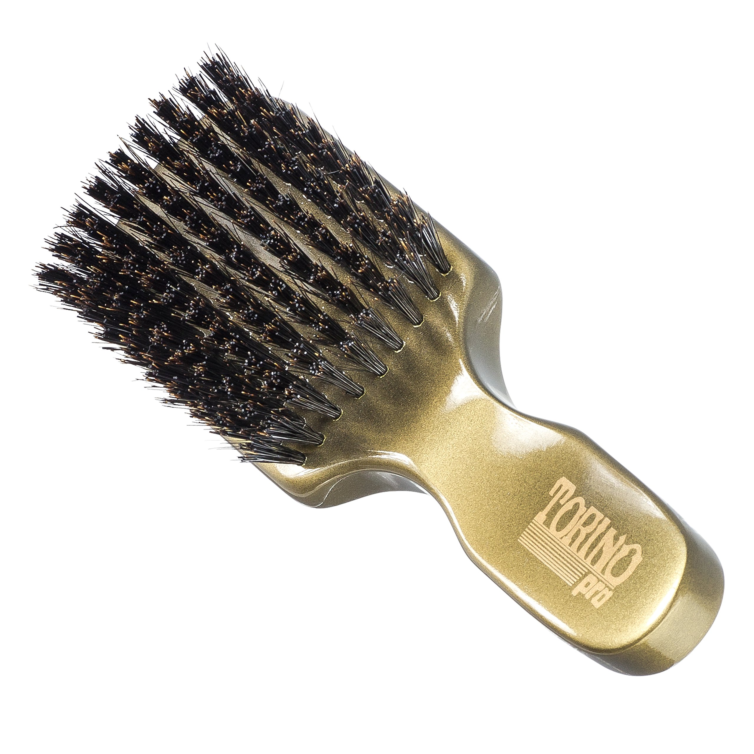 Torino Pro Wave Brush 890 By Brush King Medium Hard 360 Waves Club Brush Walmart Com Walmart Com