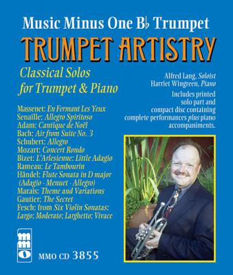 TRUMPET ARTISTRY: CLASSICAL SOLOS FOR TRUMPET WITH PIANO by