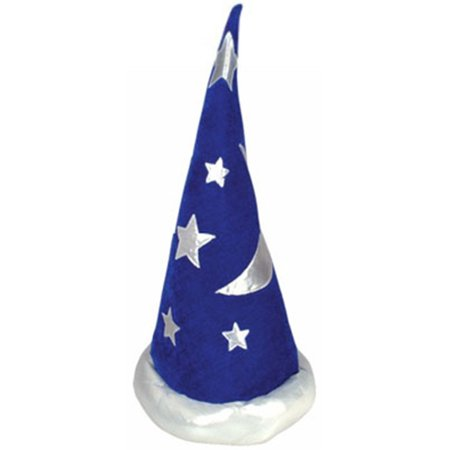 Mens Womens Child Renaissance Costume Merlin Wizard Hat (Renaissance Period For Kids)