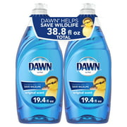 Dawn Ultra Liquid Dish Soap, Original Scent, 2 Ct, 19.4 Fl Oz