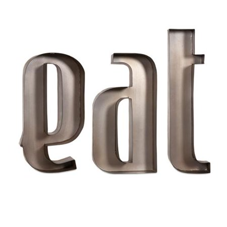 Imax Eat Iron Metal Wall Decor Letters - Walmart.com