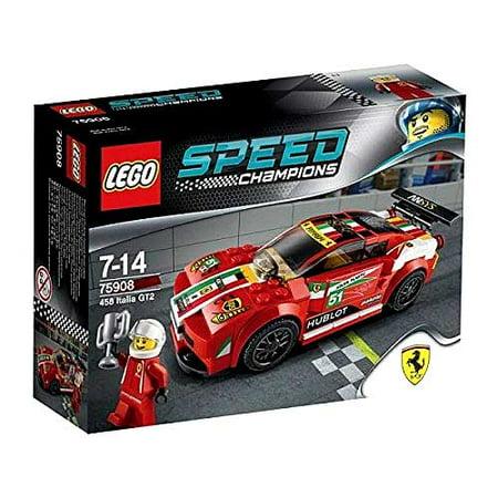 Lego Speed Champions 458 Italia Gt2 Set 75908 Walmart