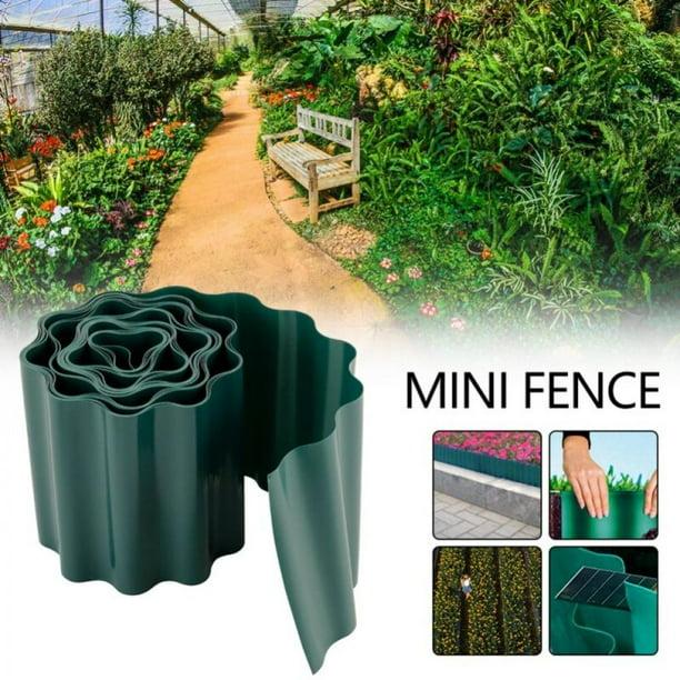 Zdmathe 9m Garden Lawn Edging Strip, Flexible Garden Fence Strips