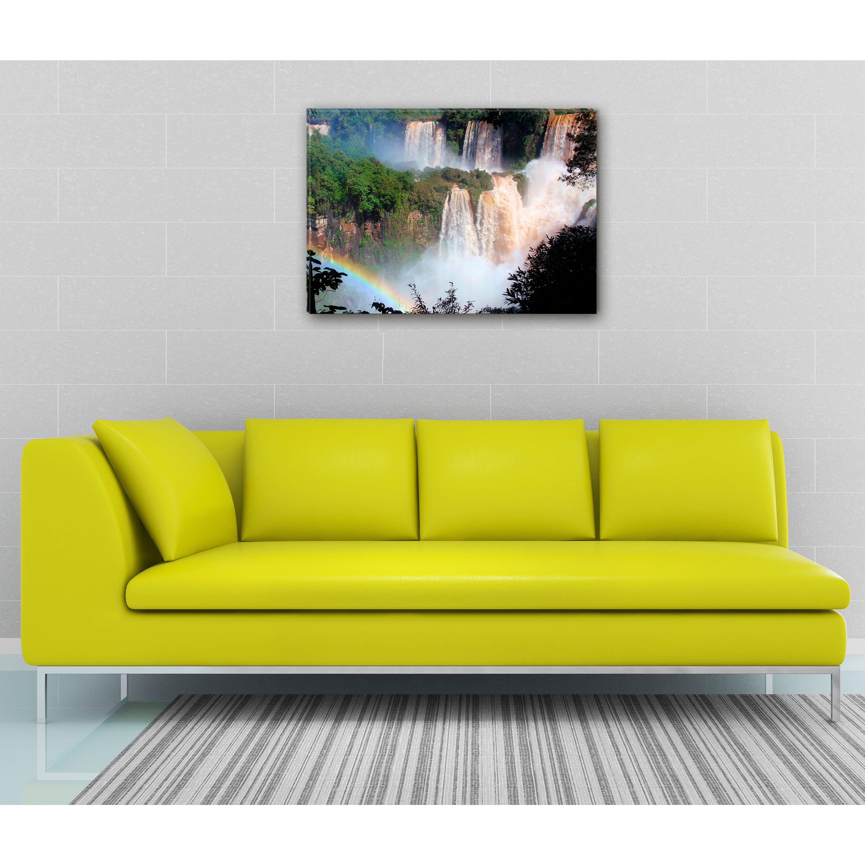Startonight Canvas Wall Art Iguazu Waterfall Argentina USA Design ...