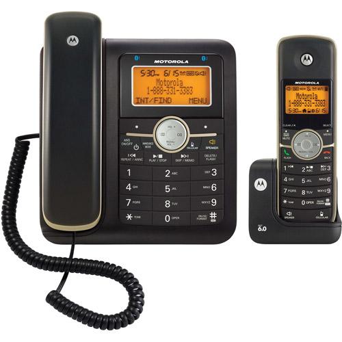 motorola l702c dect 6 0 cordless corded combo walmart com rh walmart com Motorola L603M 3 Handsets Motorola Corded Cordless Phones