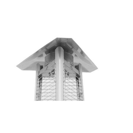AZ Patio Heaters 3-sided Glass Tube Heat Shield
