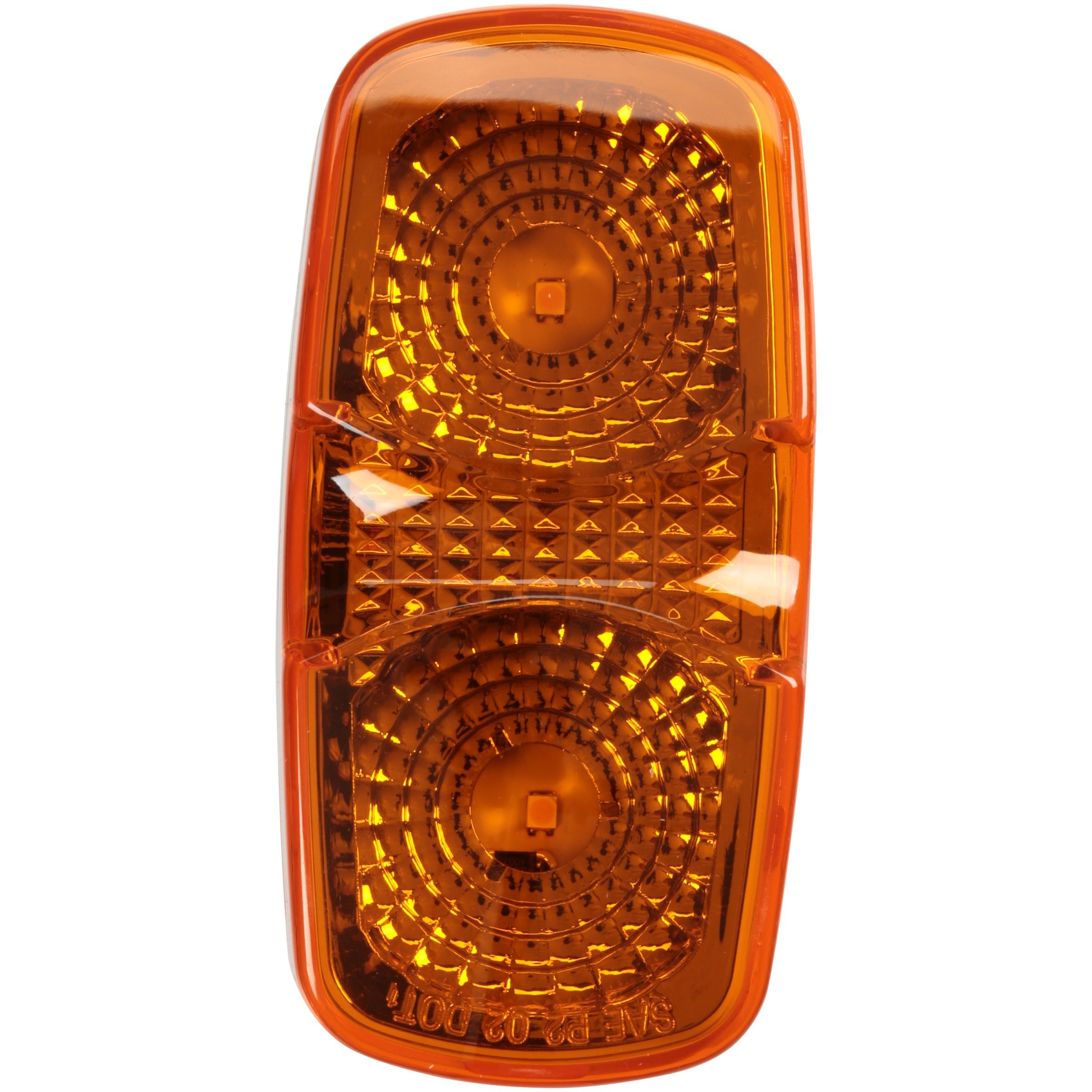 "Blazer International® LED 4"" Oblong Combination Marker Light Carded Pack"