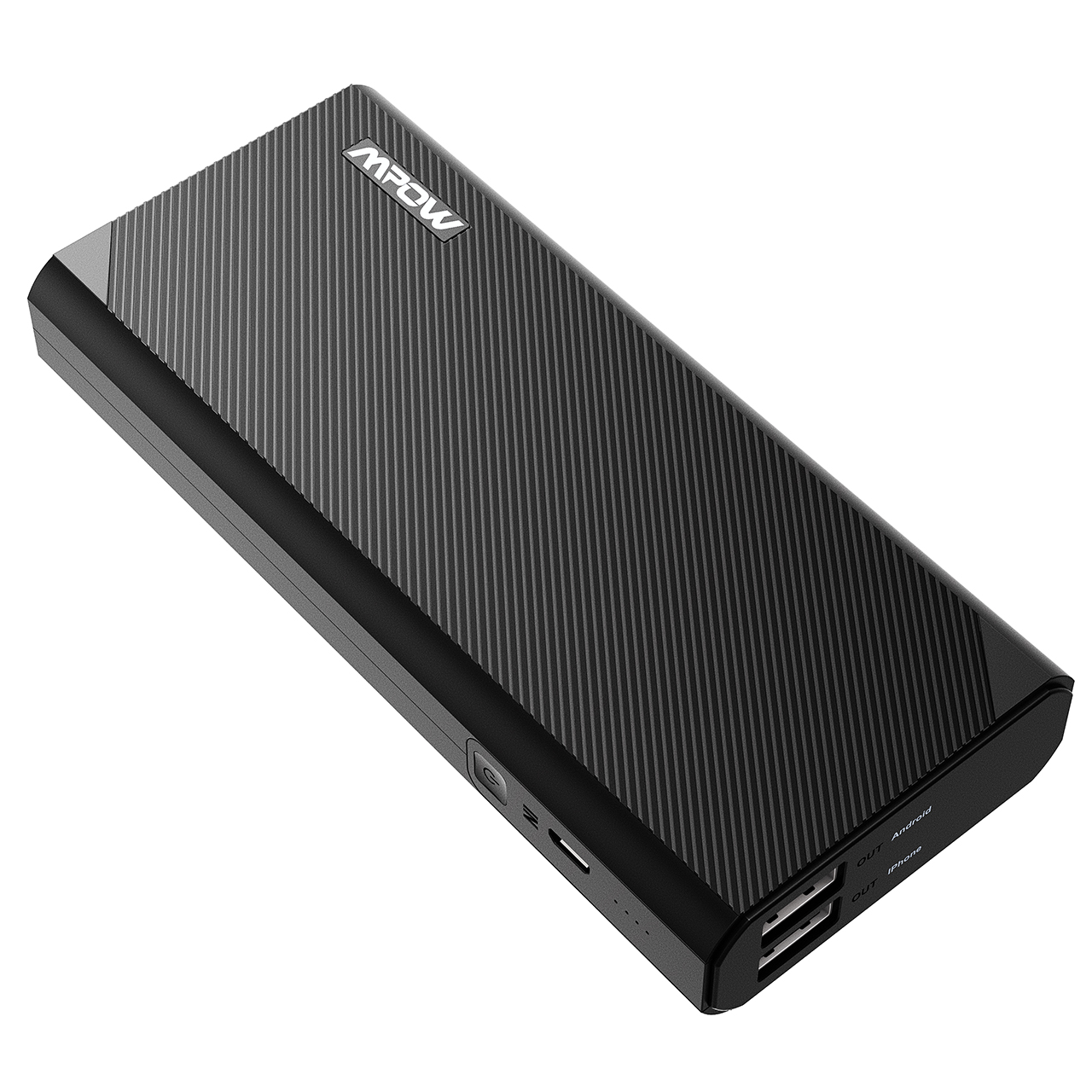 Mpow 10000mAh Power Bank External Battery Portable Charger for iPhone HTC Smartphones Tablets
