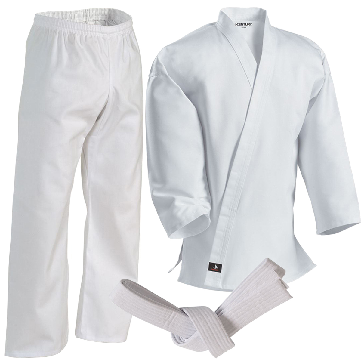 Century 7 oz Middleweight Student Uniform with Elastic Pant c0462