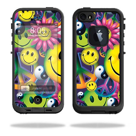 MightySkins Skin Compatible With Lifeproof iPhone 5s case - Art Graffiti | Protective, Durable, and Unique Vinyl Decal wrap cover | Easy To Apply, Remove, and Change Styles | Made in the