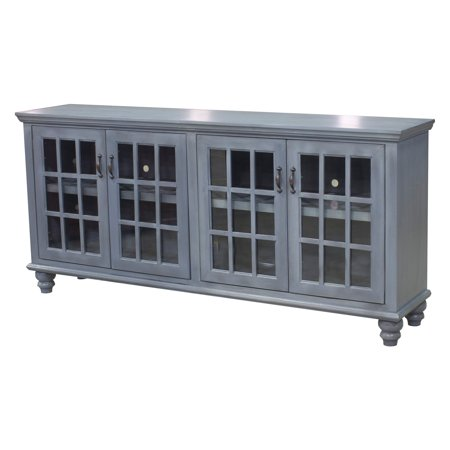 Eagle Furniture 80 In  Modern Country Entertainment Console