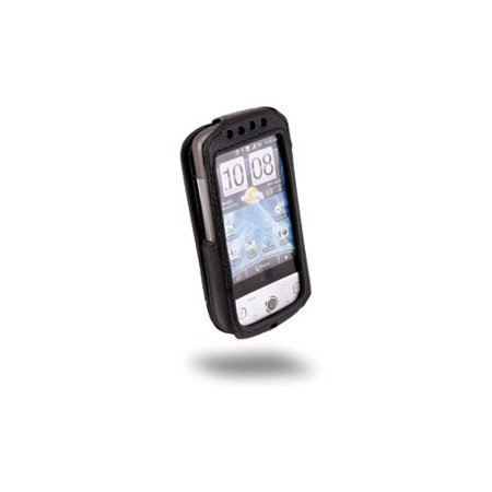 Sydney Harbour Lambskin Leather Case for HTC Hero G3 (Black) (Lambskin Fitted Case)