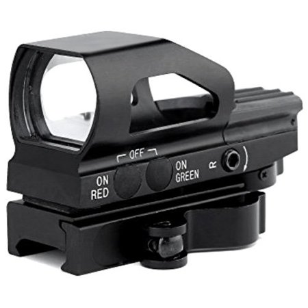 LIVABIT RD15B QD Quick Release Holographic Red Dot 4 Reticle Reflex Optics (Best Affordable Reflex Sight)
