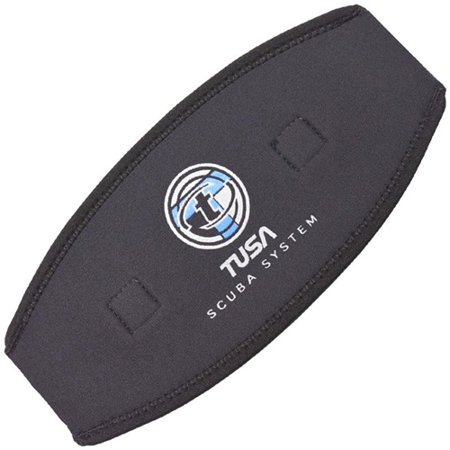 TUSA Mask Strap Cover (Black)