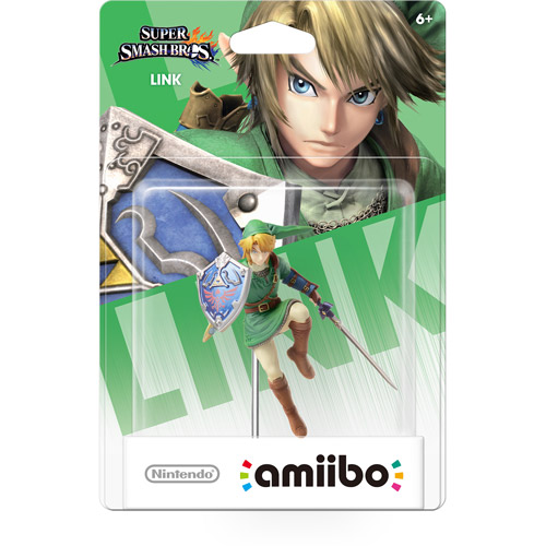 Link Super Smash Bros Series Amiibo (Nintendo Wii U or 3DS)