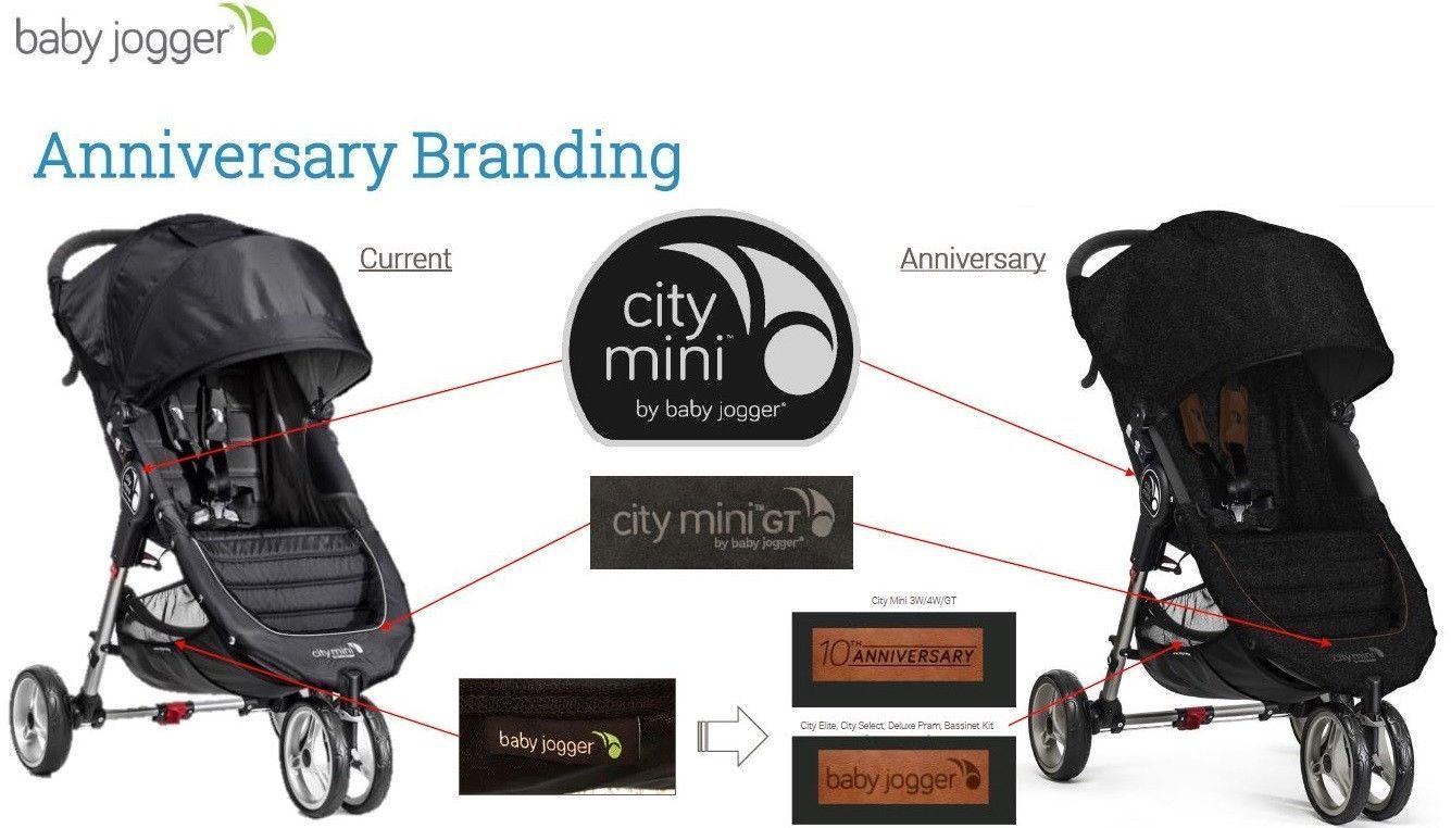 Baby Jogger City Mini GT Compact Stroller 2018 Anniversary