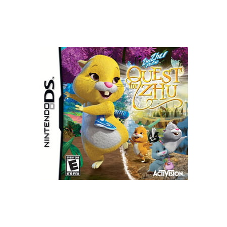 Quest for Zhu, Activision, Nintendo DS, 047875766785 (Zhu Zhu Pets Wii)