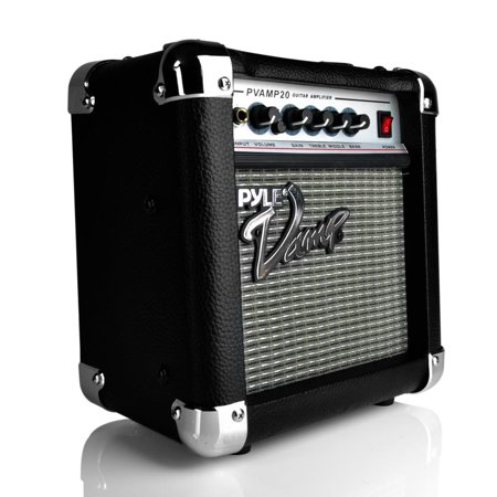 30 Watt Bass Amplifier - PYLE PVAMP20 - 20 Watt Vamp-Series Amplifier With 3-Band EQ