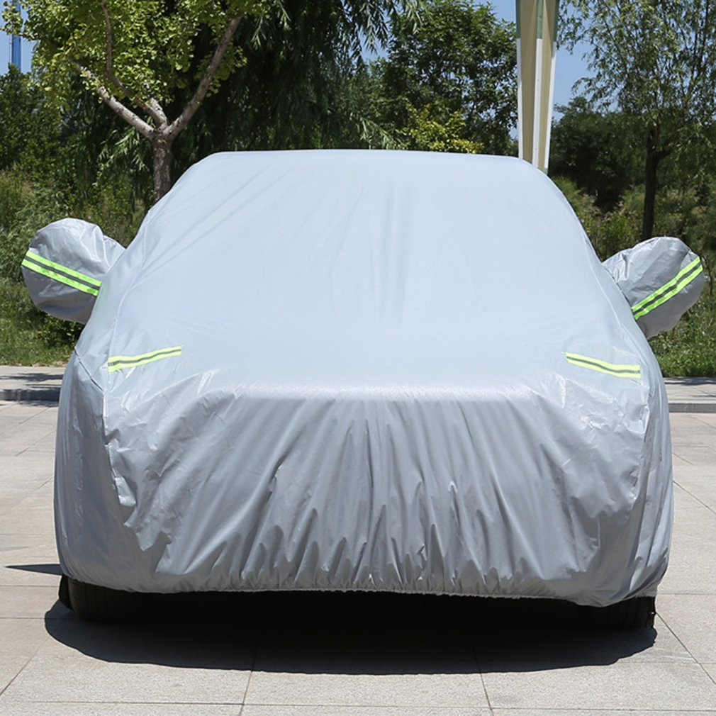 Large Car Cover Indoor Outdoor Sun Rain Dust UV Rays Protect Multifunction