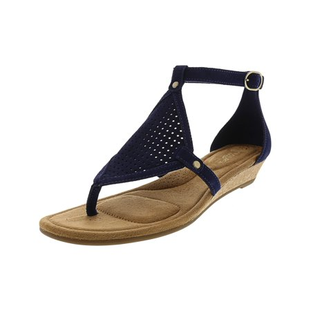 Ugg Women's Briona Insignia Blue Ankle-High Suede Sandal - 5.5M ()