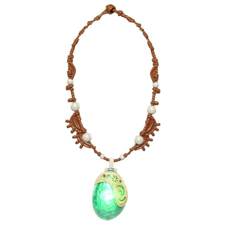 Moana Magical Seashell Light-up Necklace Girls Costume Accessory