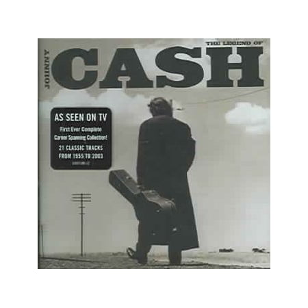 Johnny Cash - Legend of Johnny Cash (CD) (Blues Masters The Very Best Of Johnny Guitar Watson)