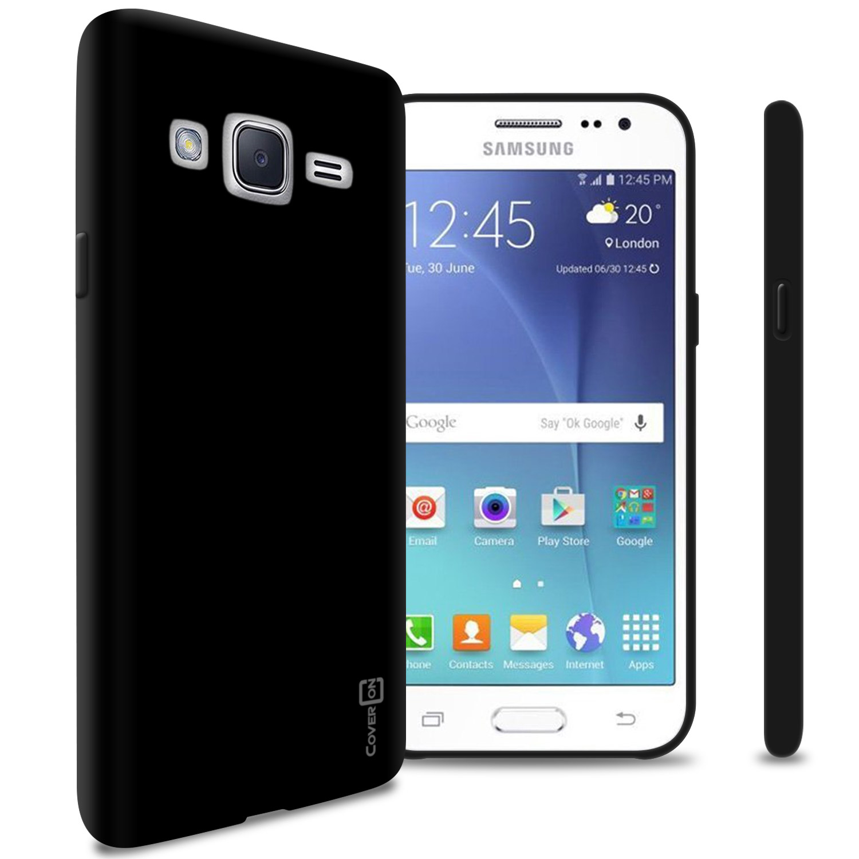 best website b324d b4c99 CoverON Samsung Galaxy J2 (2016) Case, FlexGuard Series Soft Flexible Slim  Fit TPU Phone Cover