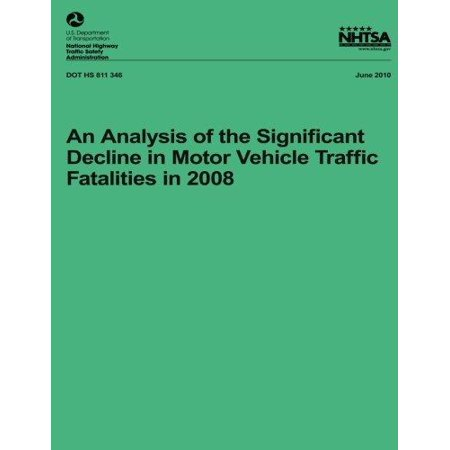 An Analysis of the Significant Decline in Motor Vehicle Traffic Crashes in 2008