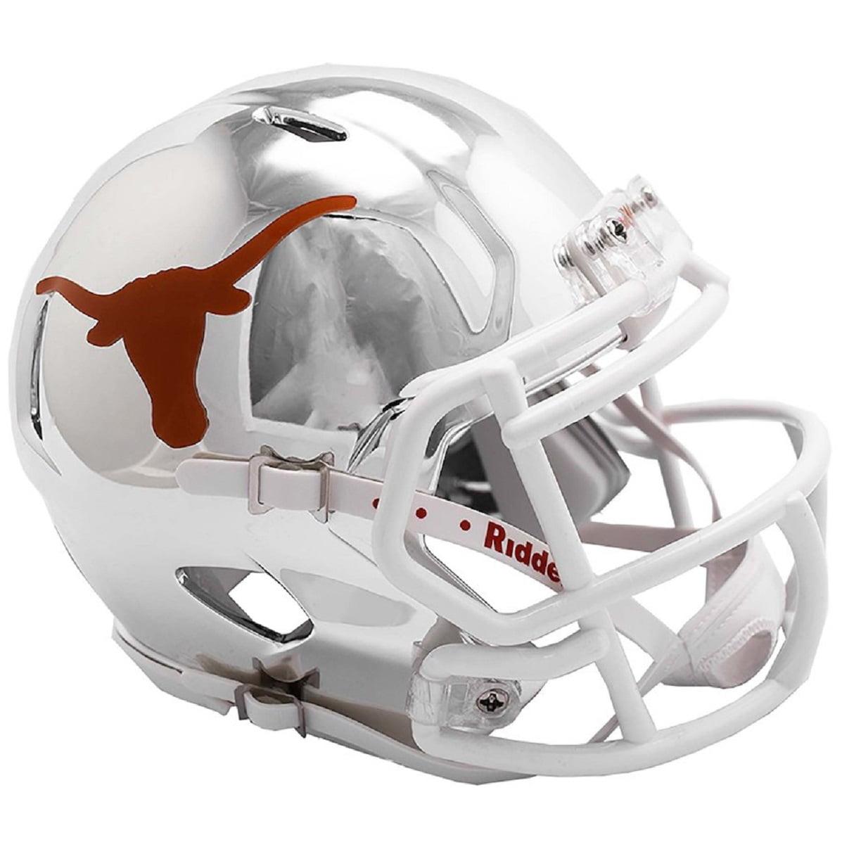 Texas Longhorns Chrome Alternate Riddell Speed Mini Helmet