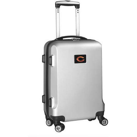NFL Mojo 19.5u0022 Hardcase Spinner Carry On Suitcase - Silver