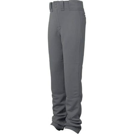 Easton Adult Graphite Grey Medium Quantum Plus Baseball Pants Adjustable Hem