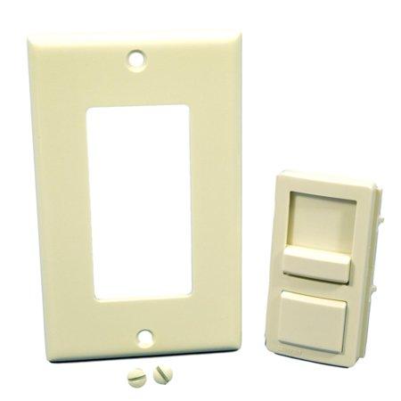 Leviton IPKIT-NT Light Almond Color Change Kit for Illumatech Dimmer - Illumatech Dimmer Switch Color Change