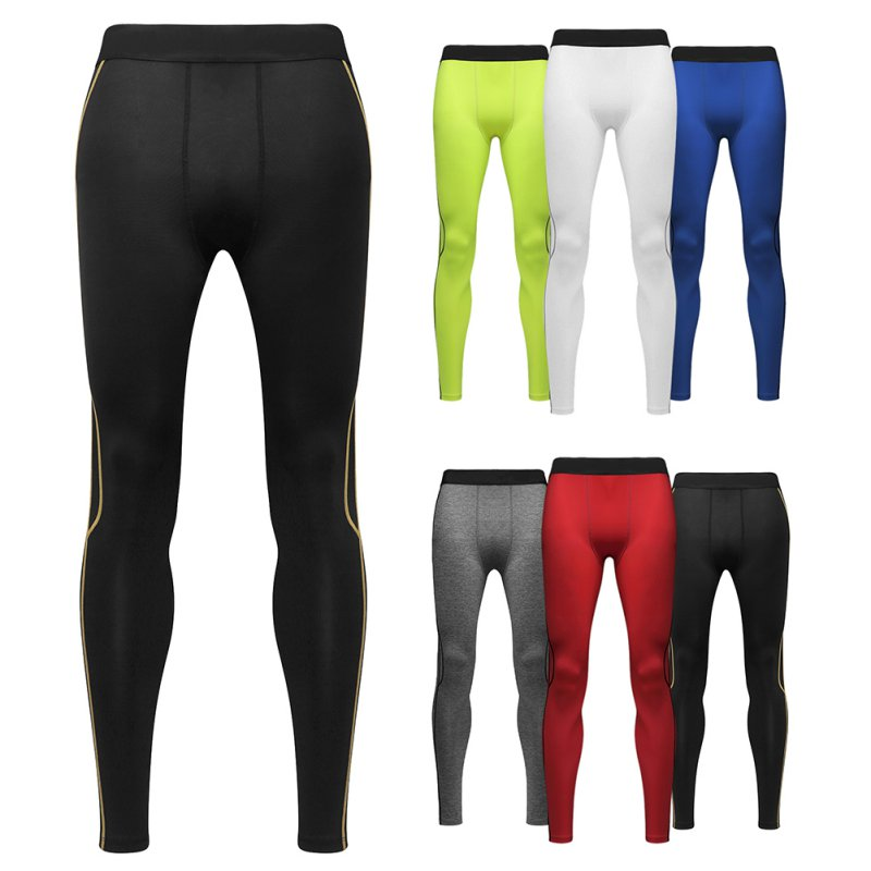 Mens Athletic Under Compression Base Layer Pants Legging Tight Running Skinny Gym Wear Football Basketball by