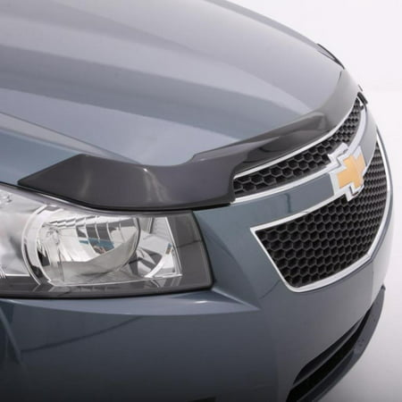 AVS 15-17 Toyota Camry Aeroskin Low Profile Acrylic Hood Shield - Smoke