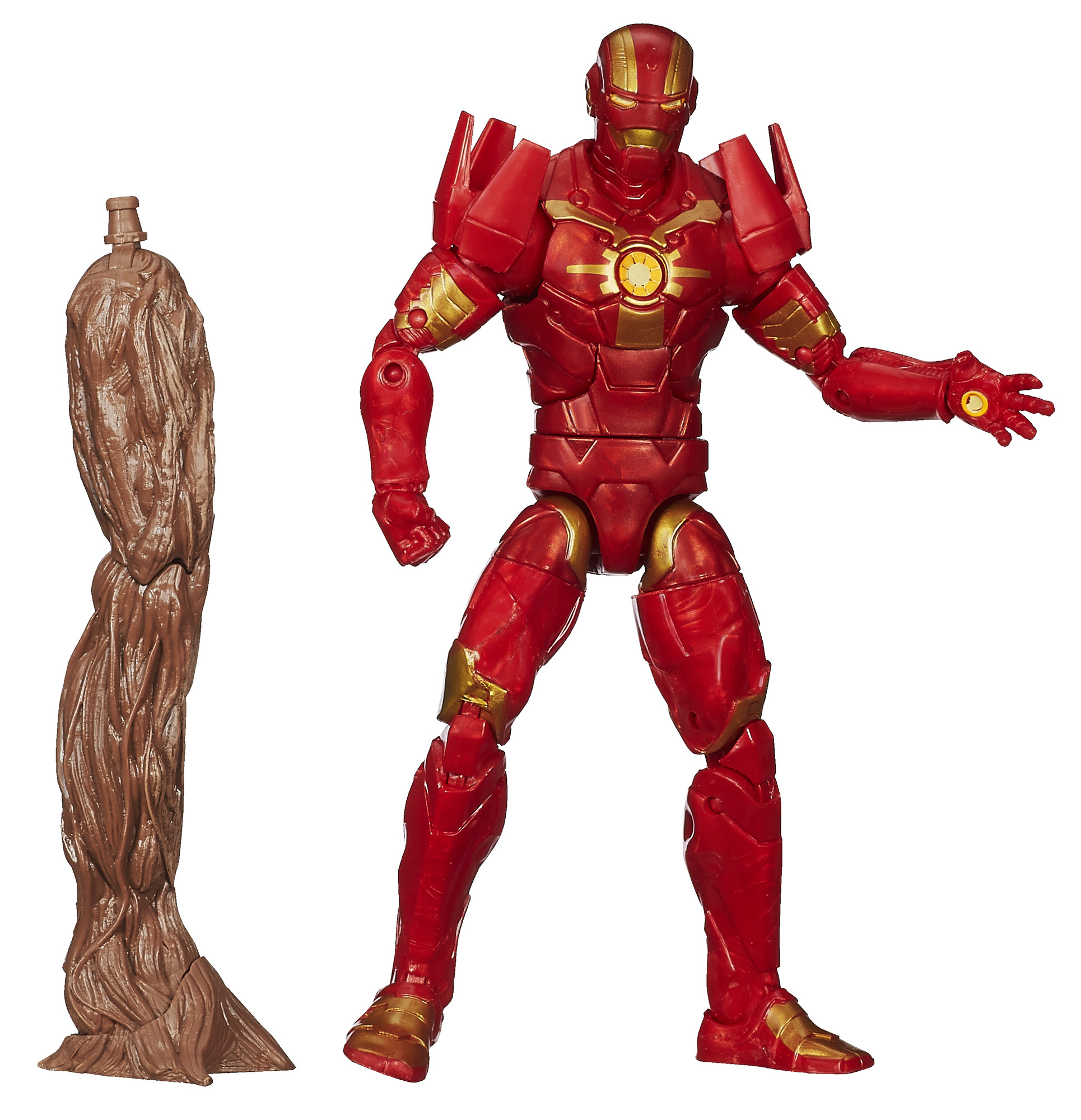 "Marvel Guardians Of The Galaxy Platinum Series Iron Man Figure 6"" Action Figure"