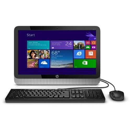 "Refurbished HP 19-2113w 19.5"" Celeron J1800 Dual-Core 2.41GHz 4GB 500GB W8.1 All-in-One PC"