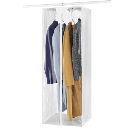 Whitmor White Jumbo Garment Bag
