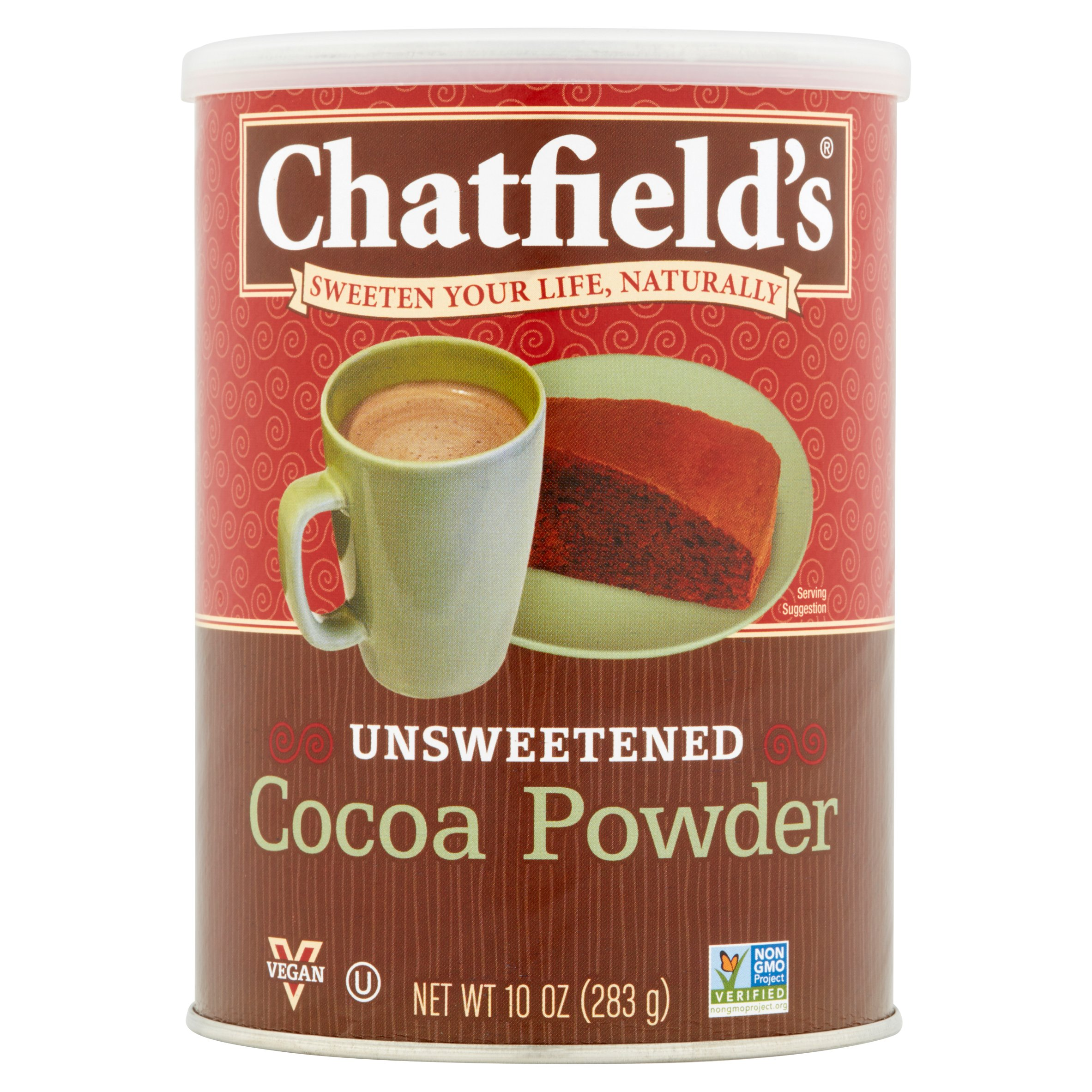 Chatfield's Unsweetened Cocoa Powder, 10 oz, 6 pack by Panos® Brands