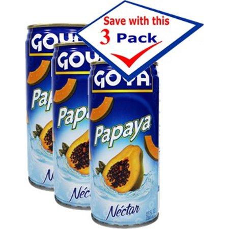 - Goya Papaya Nectar 9.8 oz Pack of 3