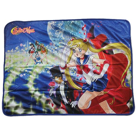 Blanket   Sailor Moon   New Group Sublimation Fleece Throw Ge57715
