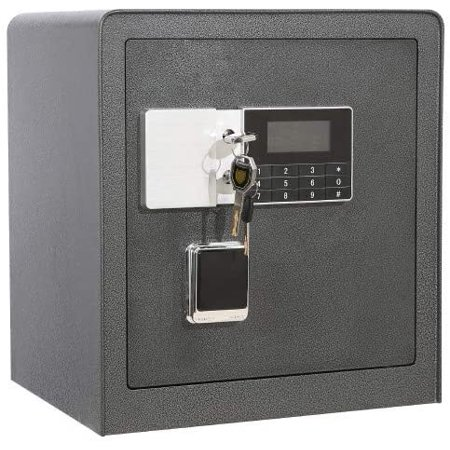 1.7 Cubic Feet Led Lock Security Home Safe Box for Gun with Electronic Lock and 2 Emergency Override Keys,Suitable for Home,Office and Hotel thumbnail